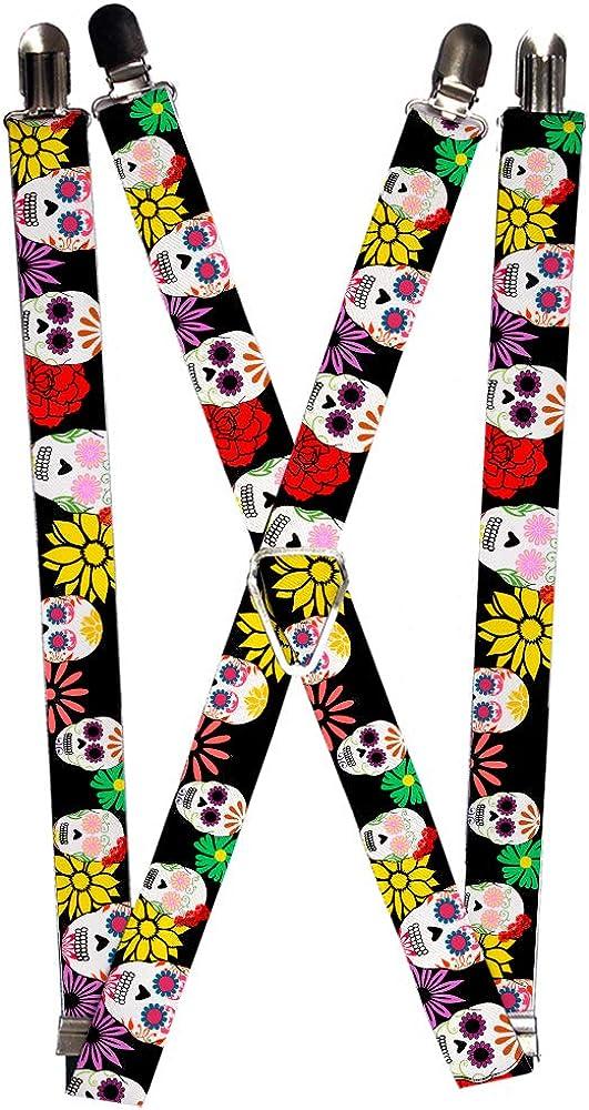 Buckle-Down Suspender - Sugar Skulls