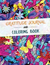 Gratitude Journal and Coloring Book: A Self Discovery Journal, Q& A, Prompts and Coloring pages