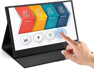 Eyoyo Eyoyo 13.3 Portable Touchscreen Monitor, 1920x1080 IPS HDMI Gaming Monitor compatible for Xbox One Xbox 360 PS3 PS4 WiiU Switch Raspberry Pi Mini PC Laptop