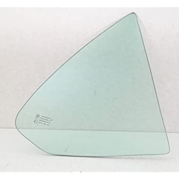 Compatible with 2000-2006 Nissan Sentra 4 Door Sedan Passenger Side Right Rear Door Window Glass