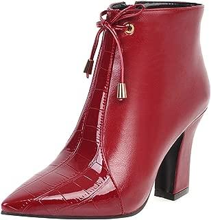 MisaKinsa WomenChunky Heels Western Booties