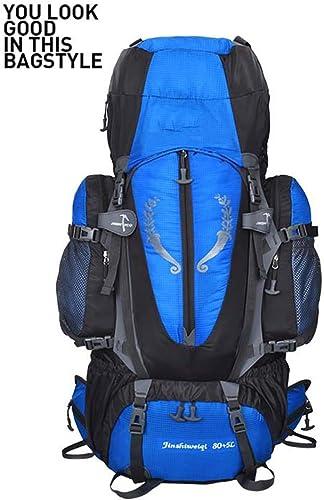 Climbing Package Sac d'alpinisme Professionnel Grande Capacité-85L Sac Extérieur étanche-Hommes Et Femmes Sacs à Dos De Randonnée - Sac à Dos De Support De Suspension,bleu