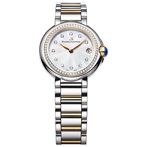 Maurice Lacroix Fiaba Round FA1003-PVP23-170-1 Wristwatch for women with genuine
