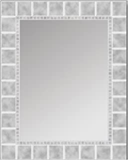 Head West 24 x 30 Glass Block Mirror, 24x30 inches