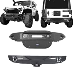 Best jeep front bumpers without winch Reviews
