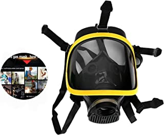 Face Cover Protecting Gas Mask Safety Face Cover Reusable Adjustable For Painting, Dust, Particulate, Machine Polishing