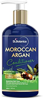 StBotanica Moroccan Argan Hair Conditioner - With Organic Argan Oil & Vitamin E (No Sulphate, Paraben) 300ml