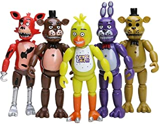 WAREHOUSEDEALS Inspired by Five Nights at Freddys Figures Set 5 pcs