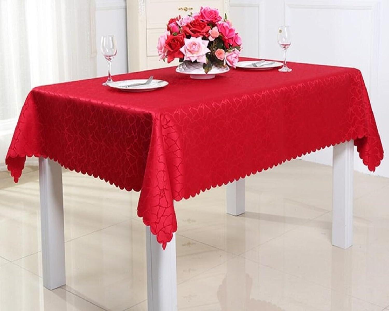 n ° 1 en línea ZXY Paño Multiusos de la la la Cubierta del Polvo, manteles Europeos Modernos del Estilo Minimalista, hoteles, cafés, antifouling, fácil Limpiar el Mantel,rojo,180  300cm  el mas de moda