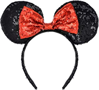 Best red and black minnie mouse ears Reviews