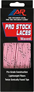 pink waxed hockey laces