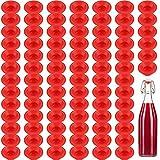 70 Pezzi Guarnizioni in Gomma Silicone Rondella per Bottiglia Swing Flip Top Rondelle a Fo...