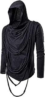 Hoodies for Mens, FORUU Mask Skull Pure Color Pullover Long Sleeve Hooded Sweatshirt Tops Blouse