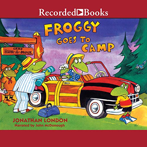 Froggy Goes to Camp audiobook cover art