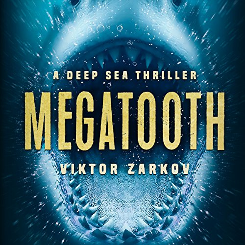 Megatooth audiobook cover art