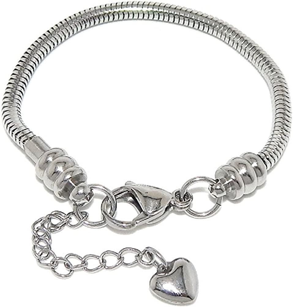 ICYROSE Hypo-Allergenic Stainless Our shop most popular Steel Indianapolis Mall Starter European S Charm