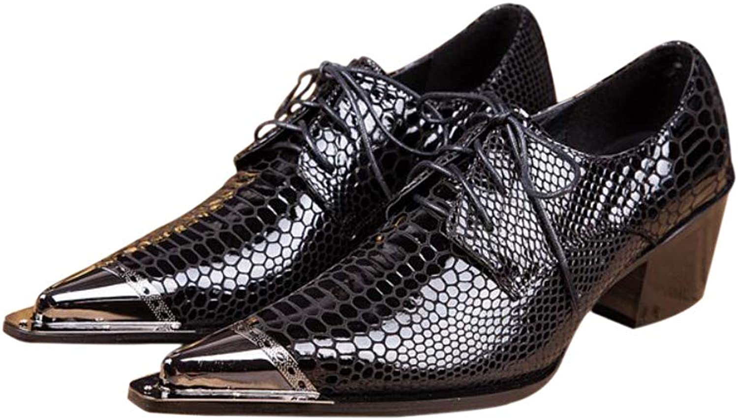 Men's Formal shoes Spring Fall Oxfords Black Party & Evening Novelty shoes