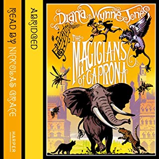 The Magicians of Caprona     The Chrestomanci Series              By:                                                                                                                                 Diana Wynne Jones                               Narrated by:                                                                                                                                 Nickolas Grace                      Length: 2 hrs and 58 mins     5 ratings     Overall 4.8
