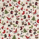 Textiles français Weihnachtsstoff | Weihnachtszeit Stoff