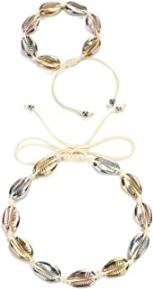 Best rose gold shell necklace Reviews
