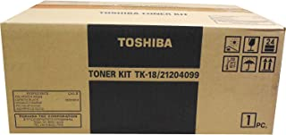 Toshiba TK-18 21204099 DP-80F DP-85F (Black) in Retail Packaging