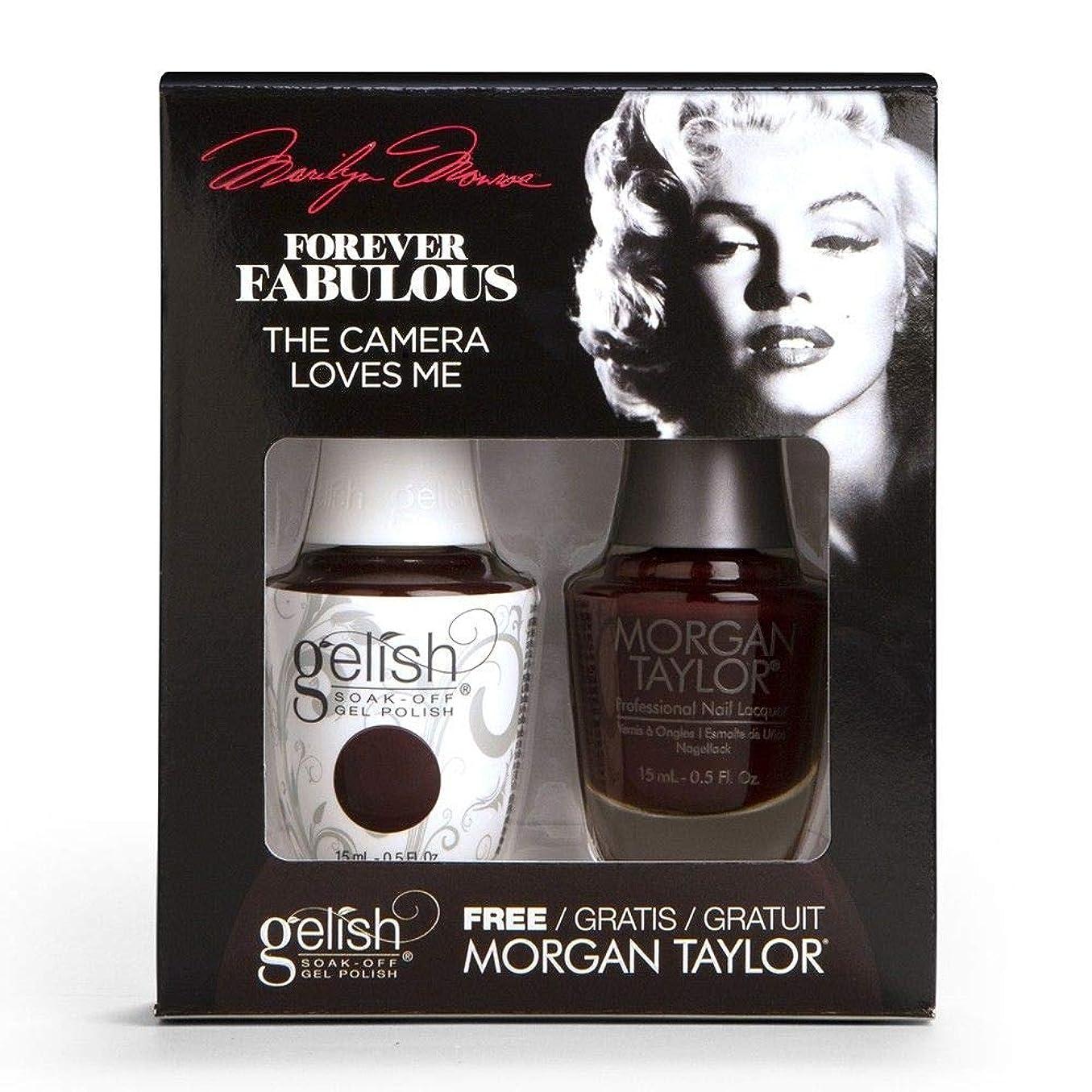 深いすべきご予約Harmony Gelish & Morgan Taylor - Two Of A Kind - Forever Fabulous Marilyn Monroe - The Camera Loves Me 15 mL / 0.5 Oz