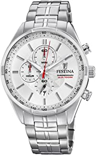 Festina F6863/1 For Men - Analog Casual Watch Stainless Steel