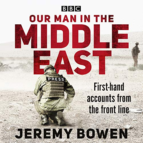 Our Man in the Middle East audiobook cover art