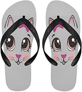 kitty flip flops