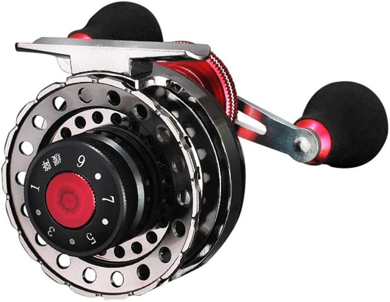 FELICIGG Angelrolle mit Metallgehäuse für Das Micro-Lead Squad Rad (Farbe   Semi-Metal, Größe   Left) B07KPSSGGC  Meistverkaufte weltweit
