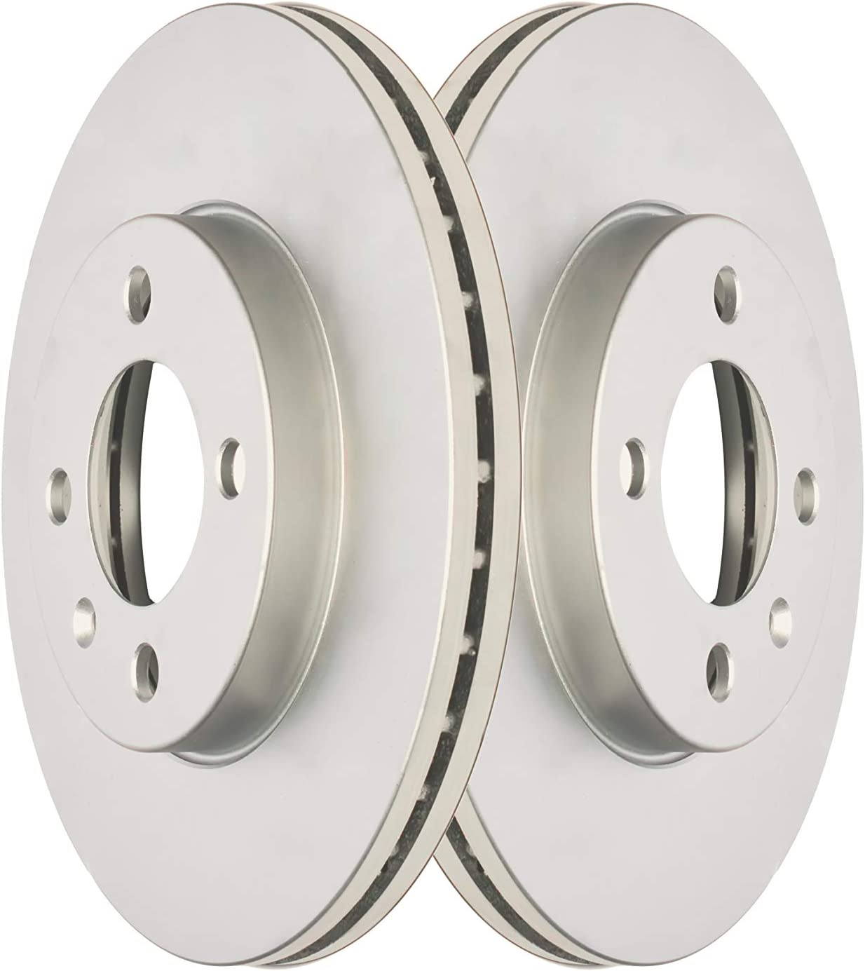 Front Premium Anti Rust Geomet Inventory cleanup selling sale Rotors Coated Brake 31056C Oklahoma City Mall