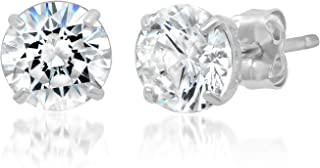 Best white gold stud earrings Reviews
