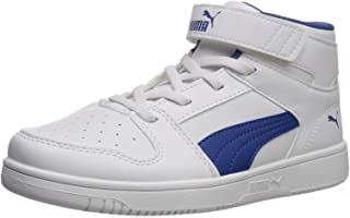 PUMA Kids' Rebound Layup Velcro Sneaker