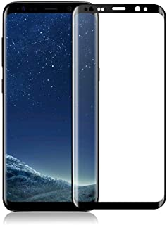 Curved Screen Protector for Samsung Galaxy S8 Plus Tempered Glass Shockproof Screen Protection 9H Hardness