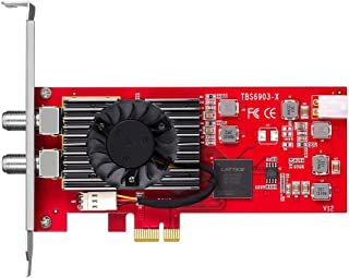 TBS6903X DVB-S2 S2X Professional Dual Tuner PCI Express Digital Satellite TV Card for Receive Special Stream Broadcasted with ACM, VCM, Multi Input Stream, 16APSK,32APSK and Generic Stream Mode