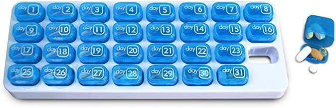 31 day monthly pill organizer