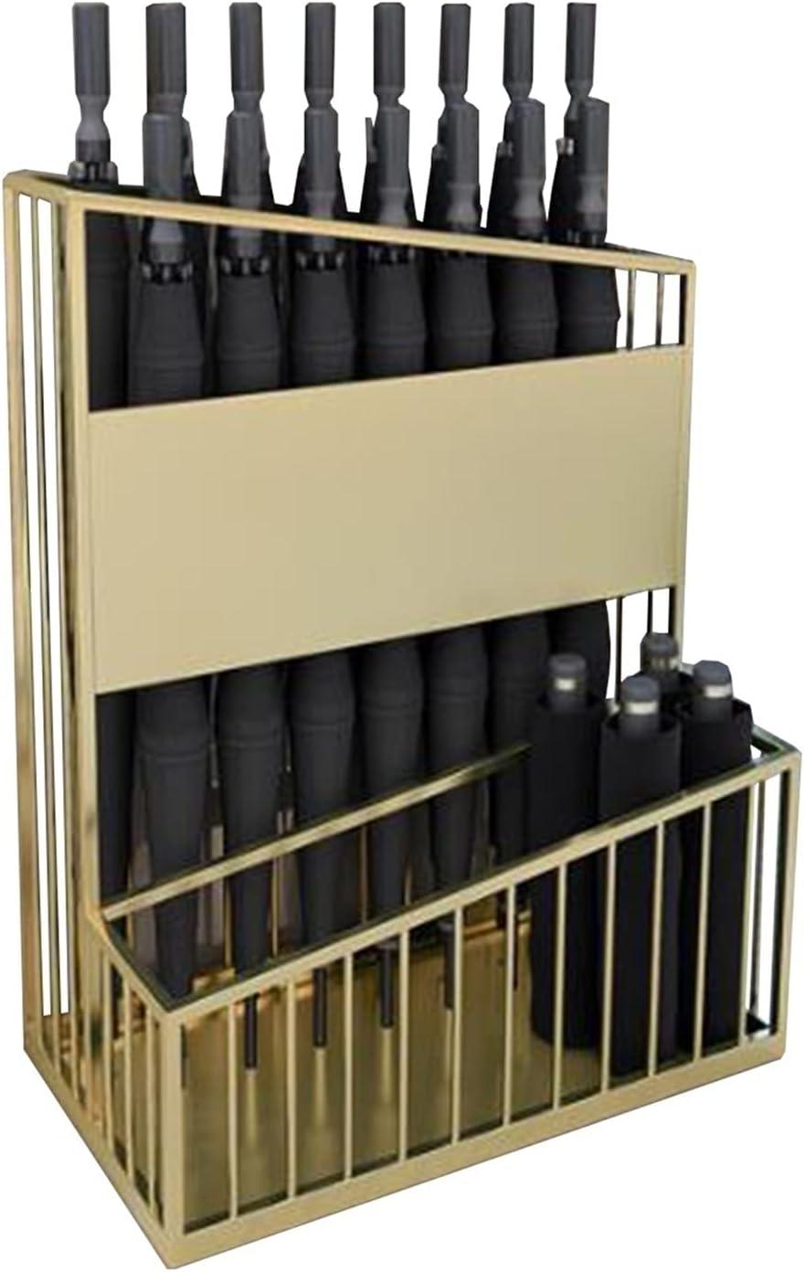 Umbrella Racks Gold Max 66% OFF overseas Stand Commercial HolderïÂ