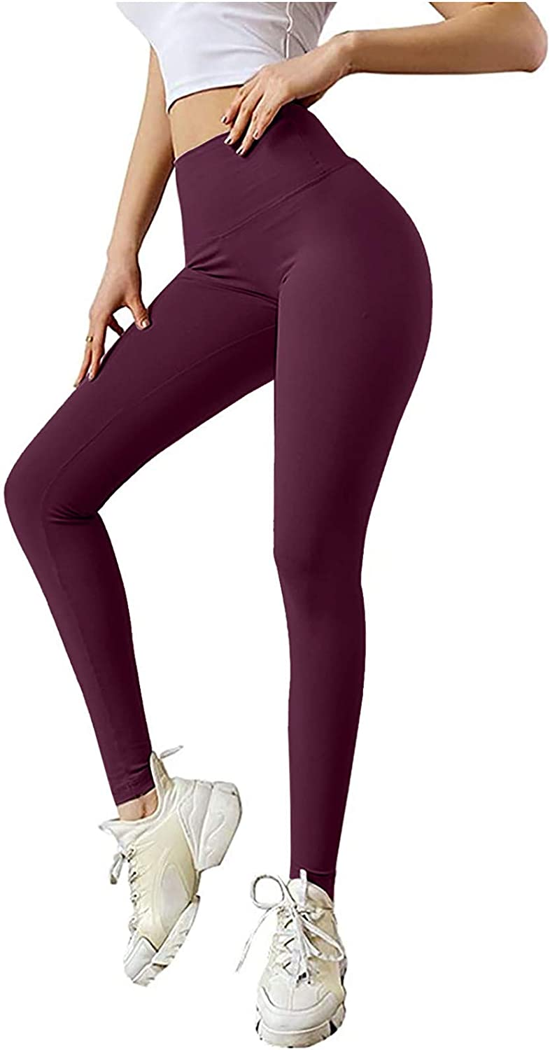 Smileyth Womens Butt Lifting Yoga Super sale period limited Pants Wai Color Solid Bow Trust High