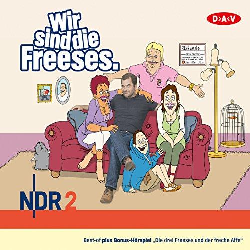 Wir sind die Freeses 1 audiobook cover art