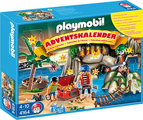 Playmobil 4164 - Adventskalender Piraten-Schatzhöhle