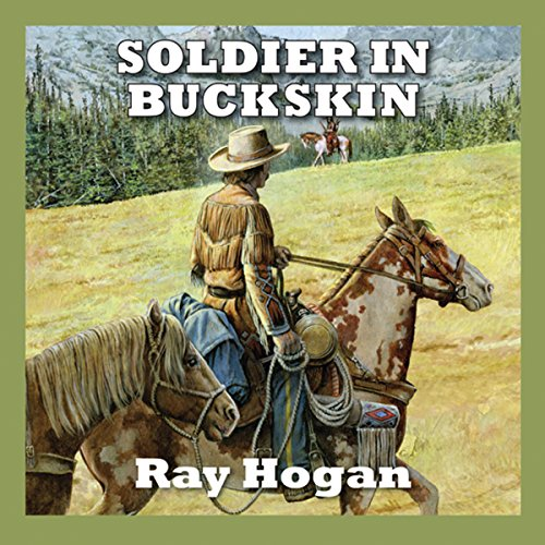 Soldier in Buckskin audiobook cover art