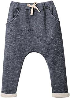 Chic-Chic-Pantalons Enfant Sport Fashion Trending Long avec 2 Poches Plaquées sur Côtés Confort Souple