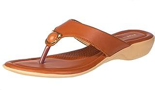 Khadim's Women Tan Casual Slip-On