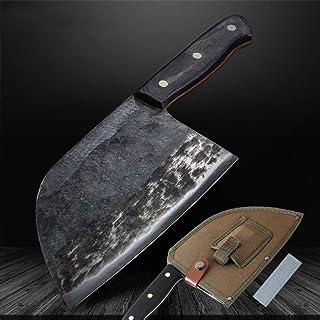 SJZS Cuchillo de Cocina de Alto Carbono con Revestimiento de Herramientas de Cortar a Mano de Acero Forjado Cuchillo de Cocina Cuchillo Profesional Cuchillos de Cocina Nakiri Gyuto Carnicero de