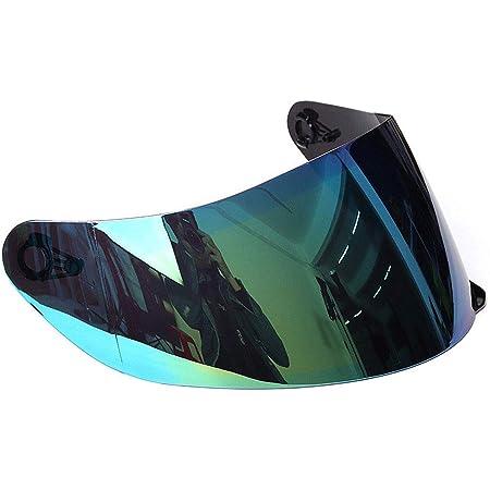 Visera para casco de motocicleta, casco de motocicleta desmontable, protección UV, visera protectora completa para casco de motocicleta