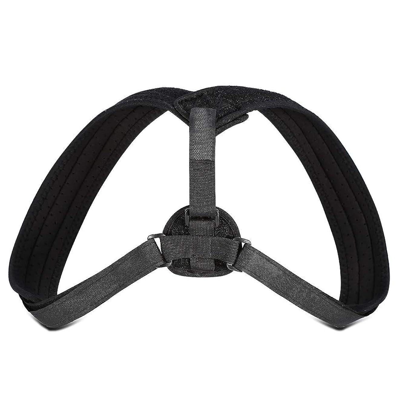 匹敵します鷲リア王Yosoo Posture Corrector - ブレースアッパーバックネックショルダーサポートアジャスタブルストラップ、肩の体位補正、整形外科用こぶの緩和のための包帯矯正、ティーン用