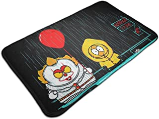 HUTTGIGH South Park Mix Horror Mix - Felpudo antideslizante para puerta de entrada de baño, cocina, alfombra de 19,5 x 31,...