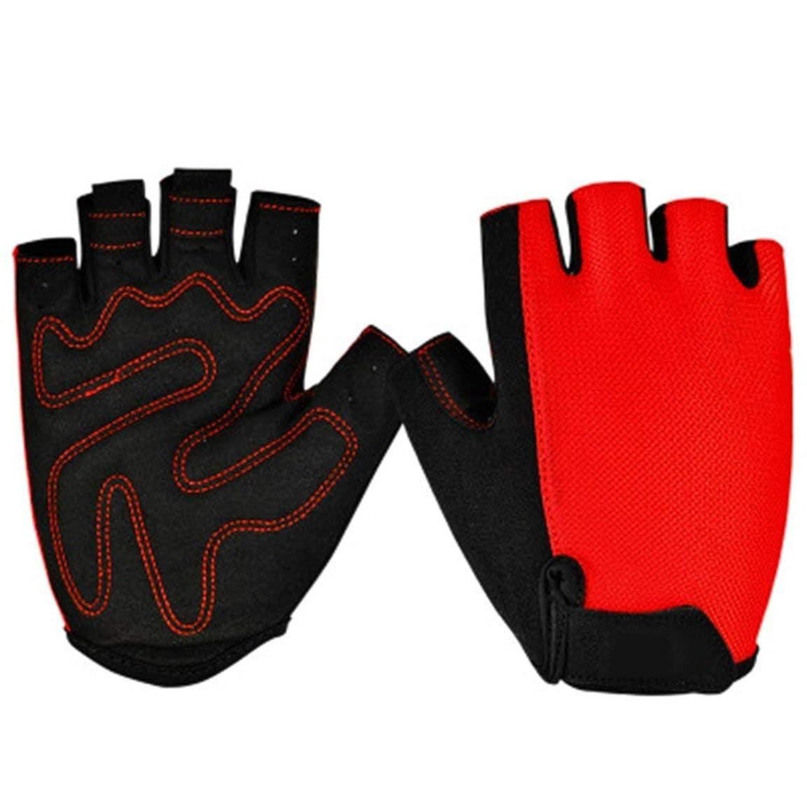 一般化するアイドルハリケーンBMY ジムウェイトリフティング手袋男性女性半指乗り手袋通気性ボディビル手首サポートトレーニングエクササイズエクステンションエクササイズ