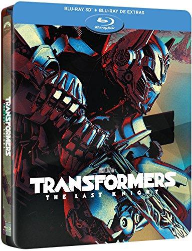 Transformers: El Ultimo Caballero (BD 3D + BD Extras) - Edición Especial Metal [Blu-ray]