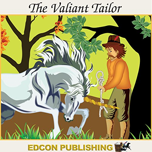 The Valiant Tailor audiobook cover art